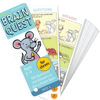 Brain Quest - Ages 3-4 Question and Answer Revised 4th Edition