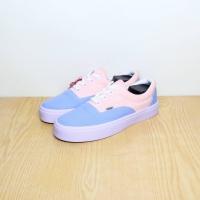 Sepatu Vans - Baby Pink Kombinasi Baby Blue (PREMIUM QUALITY) FREE BOX