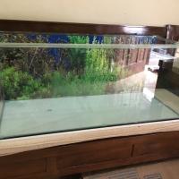 Akuarium aquarium custom ukuran 100x40x40 cm 100 x 40 x 40 kaca 8 10mm