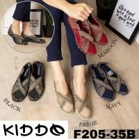 New Sole Kiddo 205-35b sepatu anyaman rajut wanita ORI