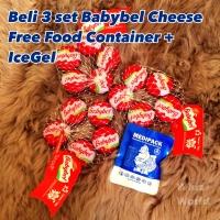 Babybel Cheese Mini Babybel Cheese Keju MPASI Bayi dan Anak 1 pc isi 5