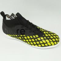 Sepatu futsal Mitre original Invader IN Black-city green new 2018