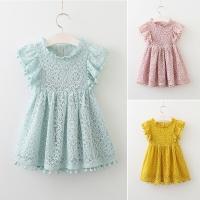 Baju Lebaran Anak Impor : Gaun Brokat Pesta