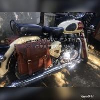 Side bag, saddlebag royal enfield, tas motor ,tas samping Royal Enfiel