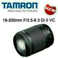 LENSA TAMRON 18 200 vc for nikon dan canon ..ready
