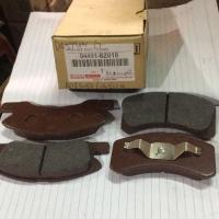 1 Set Kampas Rem Depan Agya Ayla Datsun Go Manual (Brake Pad Front)