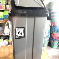 Keranjang / Tempat Sampah tutup goyang 42 liter