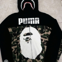 Bape X Puma Shark Hoodie