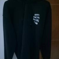 Assc hoodie mind games black anti social club original