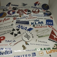 Sticker Koper Rimowa Airlines / Travel Label Rimowa 50pcs Good Quality