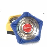 Asbak bintang segi 5 lucu warna murah stainless hitam biru kuning