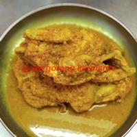 Ayam kampung asli (dijamin 100%) bumbu kuning