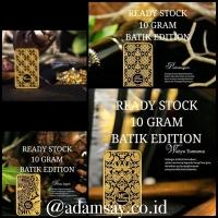 Logam mulia emas antam 10 gram edisi batik terbatas