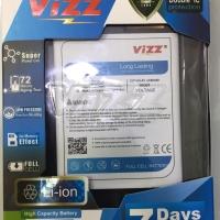 Baterai double power vizz ZC520TL/asus zanfone 3max 5,2inci