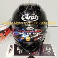 Helm full face Arai RX7X SRX carbon original Japan size M L XL lengkap