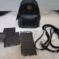 Preloved MCM Bebeboo Black Mini backpack 2017