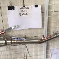 Knalpot Kawahara gt pro race Honda blade fi