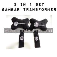 2 in 1 Bantal Mobil Gambar Transformer/Bantal Mobil Set/Bantal Car Set