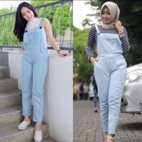 Jumpsuit playsuit overall hijab wanita cewek remaja