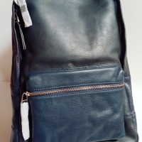 Jual Tas Ransel Pria ORIGINAL Fossil Estate Backpack Navy Leather NWT