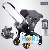 Baby Stroller Carrier Rocking Car Seat 4 in 1 (Resemble Doona)