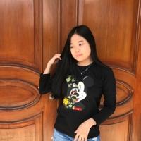 T-shirt / baju wanita / kaos cewek lengan panjang bape shark mickey