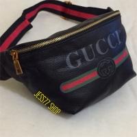 Tas pinggang / Waist Bag Gucci/ Tas Selempang Pria /Wanita Import.