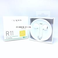 Earphone Headset Handsfree OPPO R11 ORIGINAL GARANSI