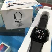 seken Apple watch seri 3 42mm Gray (fullset/masih bergaransi 11bln)