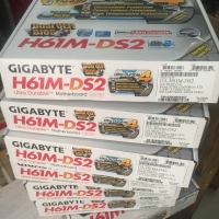 MB GIGABYTE GA-H61M-DS2 MOTHERBOARD H61 GIGABITE INTEL LGA SOCKET 1155