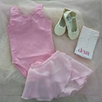 Baju Ballet anak 1 set (Tanpa Stocking)