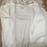 Baju atasan wanita warna putih cantik