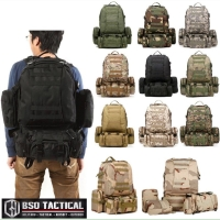 Tas Ransel Tactical Molle Backpack 50L import