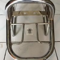Back Rack Kawasaki W175 Chrome