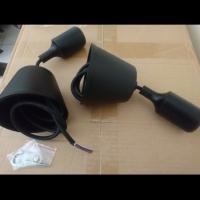Fiting lampu gantung karet fitting lampu cafe rubber e27