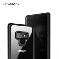 USAMS Mint Series TPU+PC Clear Back Case For Samsung Note 9 Note9