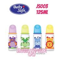 Botol Susu Bayi Baby Safe Babysafe JS003 Feeding Bottle 125ml