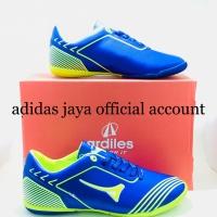 Sepatu Futsal Ardiles Firffly biru royal hijau citron original product