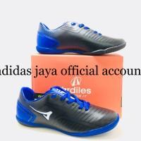 sepatu Futsal Ardiles Primeknit Hitam biru royal original Product