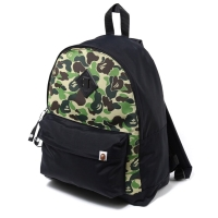 BAPE ABC DAY PACK BACKPACK - GREEN AUTHENTIC ORIGINAL
