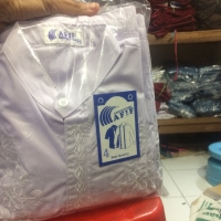 Baju koko untuk ngaji anak ukuran 4 putih/warna