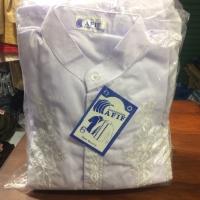Baju koko untuk anak ngaji ukuran 6 putih/warna