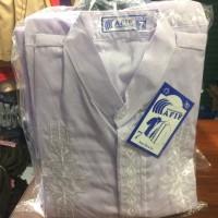 Baju koko untuk anak ngaji ukuran 7 putih atau warna