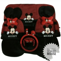 Bantal Mobil/Sarung Jok Mobil/18in1 Mickey Mouse(headrest Terpisah)