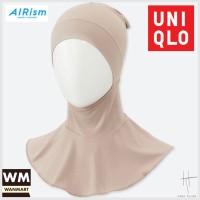 UNIQLO AIRism Hana Tajima Bandana Dalaman Hijab Jilbab Ciput Pink