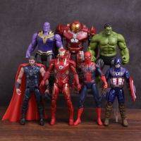 Action figure Avengers Infinity war Thanos Hulkbuster iron spider