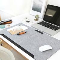 Mousepad Desk Top Felt Keyboard Laptop Table Cover
