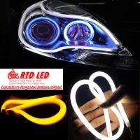 Drl led Lampu alis Flexibel 60 cm isi 2 Pcs Sepasang original