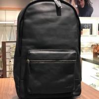 Tas Pria Original Fossil Estate Backpack Black Full Leather NWT