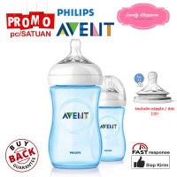 Botol susu Avent Philips milk bottle natural 260ml 260 ml Blue SATUAN